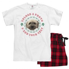 Photo Upload Family Christmas Pajamas
