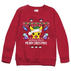 Custom Kids Cute Gamer Ugly Sweater