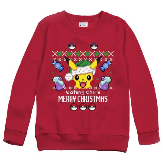 be62643304d4 Custom Kids Cute Gamer Ugly Sweater Youth Heavy Blend Crewneck ...