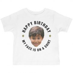 Toddler Cut Out B-Day Tee