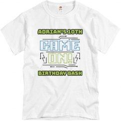 Custom Kids Game On Birthday