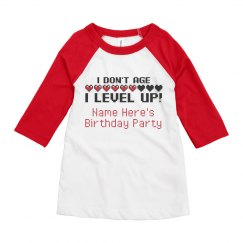 I Don't Age Gaming Birthday Tee