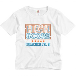 High Score Custom Birthday Top