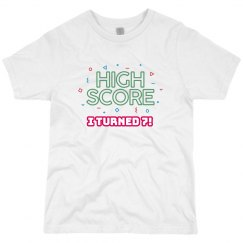 High Score Age Birthday Tee