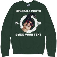 Best Friend Photo Upload Ugly Sweater