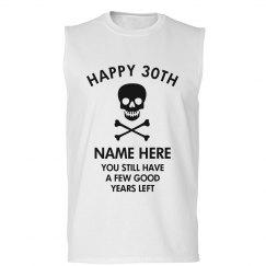 Custom Happy 30th Birthday