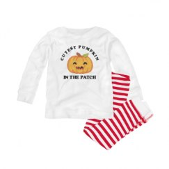 Infant Pajama 1x1 Rib Set