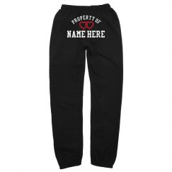 Property Of Custom Name Sweatpants