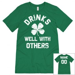 Drinks Well Group Shirts St. Pat's
