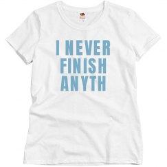 Finish Anyth