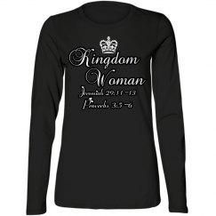 Kingdom Woman L/S Tee