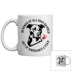 Pit Bull Dog Lovers Coffee Mug