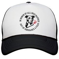 Pit Bull Dog Lovers Trucker Hat