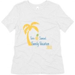 Avalon - Super soft Tee Palm Tree