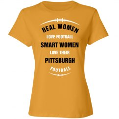 Smart women love Pittsburgh football