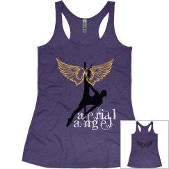 Aerial Angel Tank  Purple