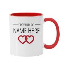 Custom Property Color Mug