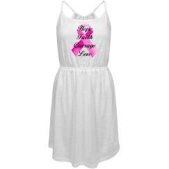 Pink Ribbon Faith Dress