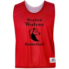 Wolves Basketball Pinnie
