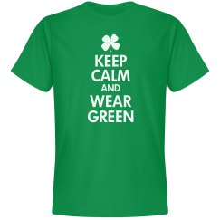 Keep Calm & Wear Green