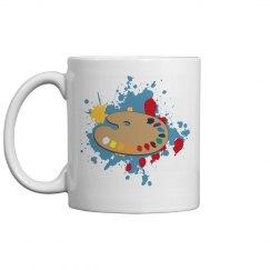 Paint Palette Coffee Mug