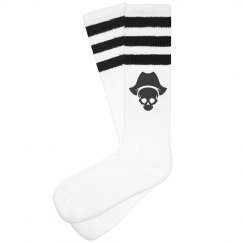 Buccaneer/Pirate 3-stripe Knee Socks