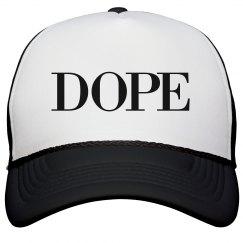 BLK DOPE HAT
