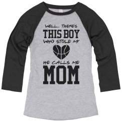 Cute Basketball Mom Pride