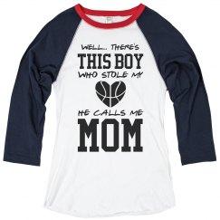 Cute Basketball Mom Pride