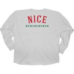 Nice Holiday Long Sleeve T-Shirt