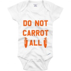 Carrot All Funny Easter Baby