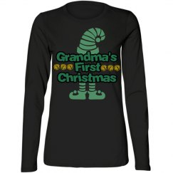 Grandma's First Christmas - Long Sleeve