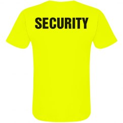 Neon Security T-Shirt