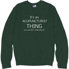 Acupuncturist thing