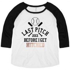 Custom Date Baseball Bachelorette