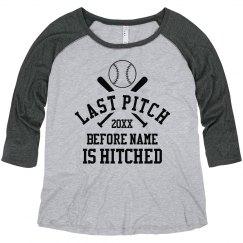 Custom Baseball Bachelorette Tee