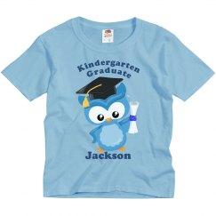 Kindergarten Graduate Owl