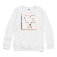 Youth - Copper Metallic Crewneck Sweatshirt