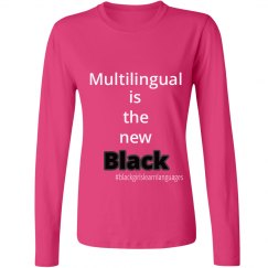 Multilingual is the new... long sleeve