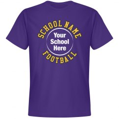 Custom Football Team Tee