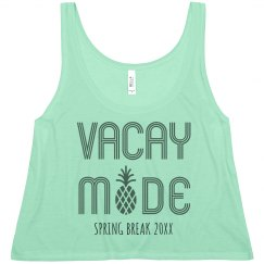 Customizable Spring Break Vacay