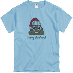 Santa Poop Clause blue