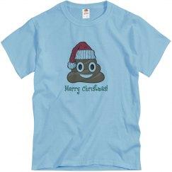 Santa Poop Clause blue