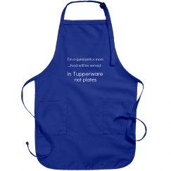 Gym mom apron