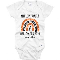 Matching Halloween Family Baby Onesie