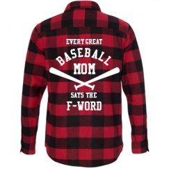 Unisex Long Sleeve Plaid Flannel Shirt