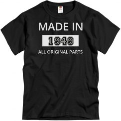 Made with Original Parts