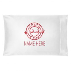 Custom Name Christmas Pillowcase