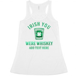 Green Metallic Irish Whiskey