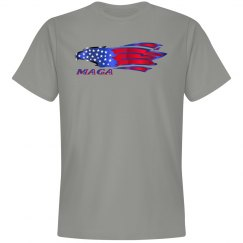 Eagle Patriot Preshrunk Premium Tee Shirt